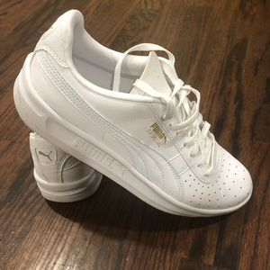 Puma GV Special White with gold size 5.5 / 7